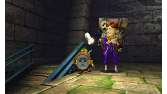 The Legend of Zelda Majora's Mask 3D Miiting
