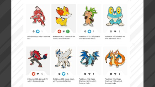 Pokémon Trainer Club Collectible Gallery