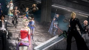 Media Create Top 50 Dissidia Final Fantasy NT