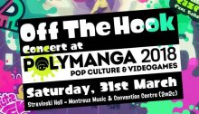 Off The Hook Concert at Polymanga 2018