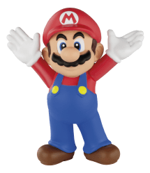 mario super happy meal toys toy nintendo transparent mcdonalds march mcdonald meals friends flagpole 19th supermario jumping nofx general arrive