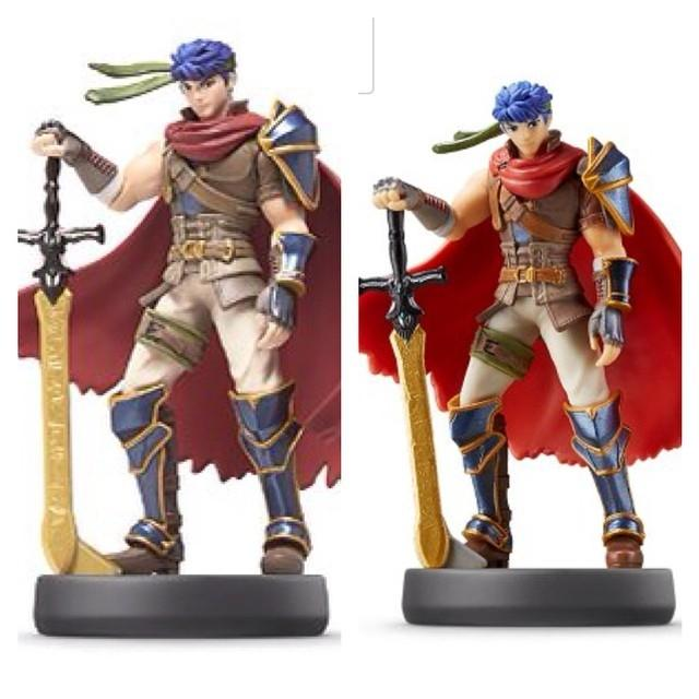 amiibo-design-comparison