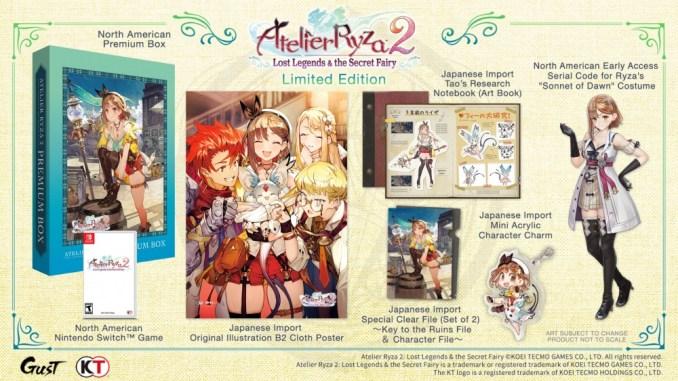 Dieses Bild zeigt die Limited Edition von Atelier Ryza 2: Lost Legends & the Secret Fairy.