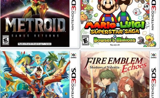 Best Buy B1g1 50 Sale On Nintendo Published 3ds Games