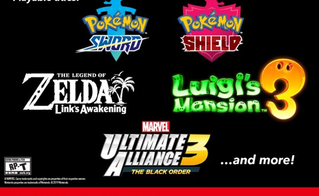 Nintendo E3 2019 Details Playable Games Marvel Ultimate