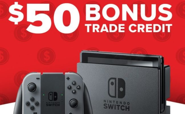 New Switch Trade In Deals At Gamestop Nintendo Everything