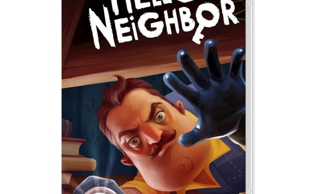 Hello Neighbor Confirmed For Switch Nintendo Everything