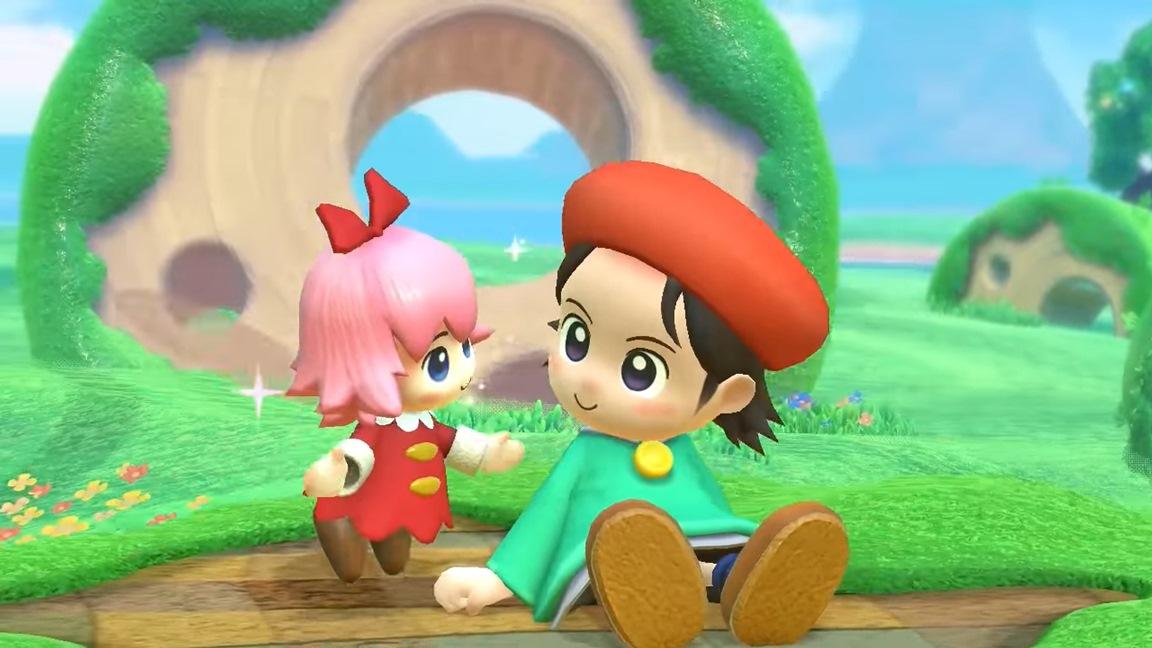 Kirby Star Allies Adeleine Amp Ribbon Trailer Nintendo