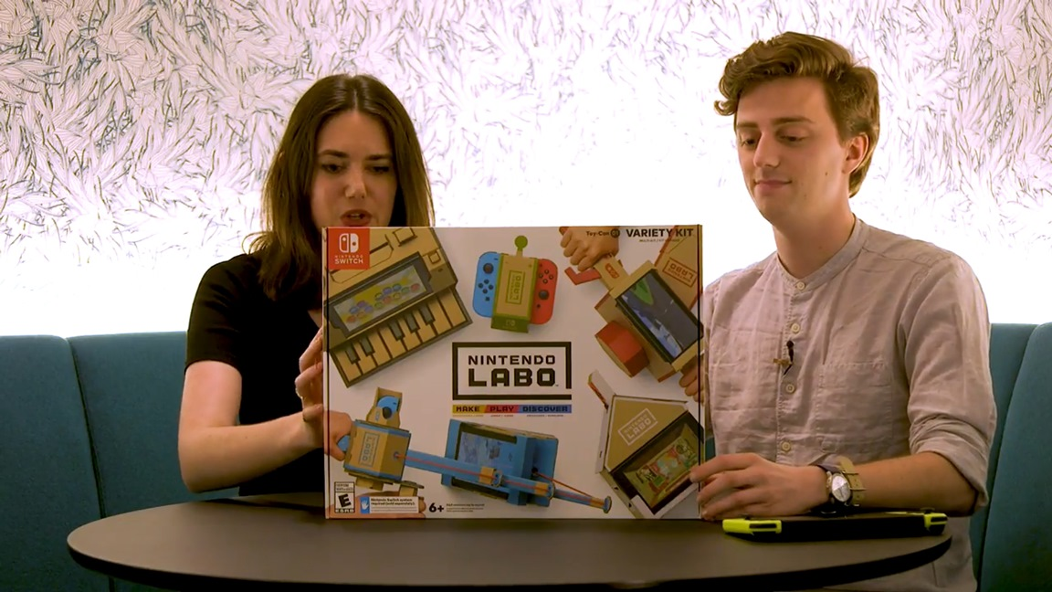 Nintendo Labo Unboxing And Building Video Nintendo