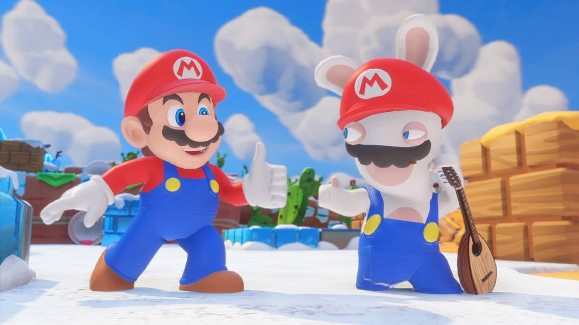 Mario Rabbids Kingdom Battle Is Switchs Best Selling
