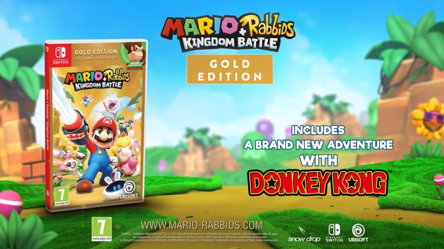 Rabbids Donkey Kong Adventure