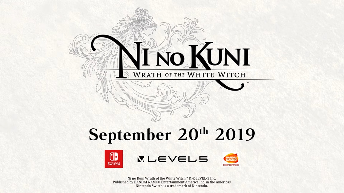 Ni no Kuni: Wrath of the White Witch launches September 20