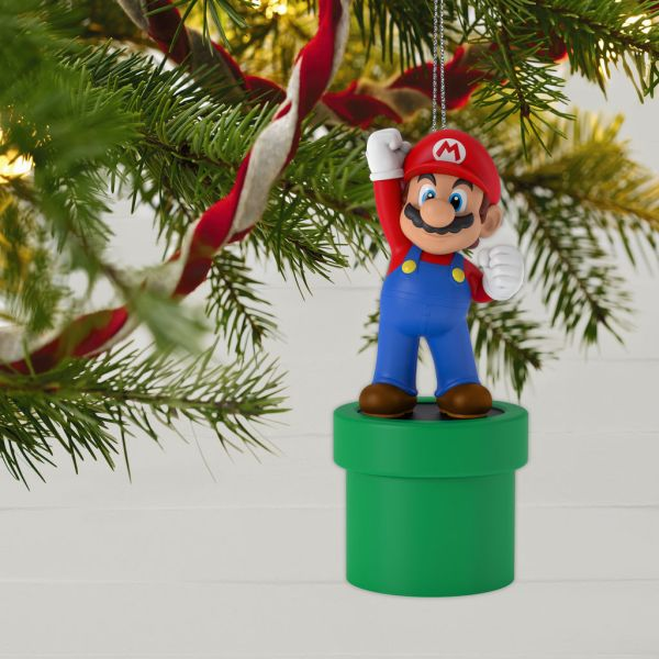 Hallmark Making Of Mario Ornaments - Nintendo