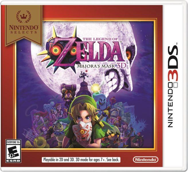 Nintendo Selects Zelda Majoras Mask 3D Super Mario