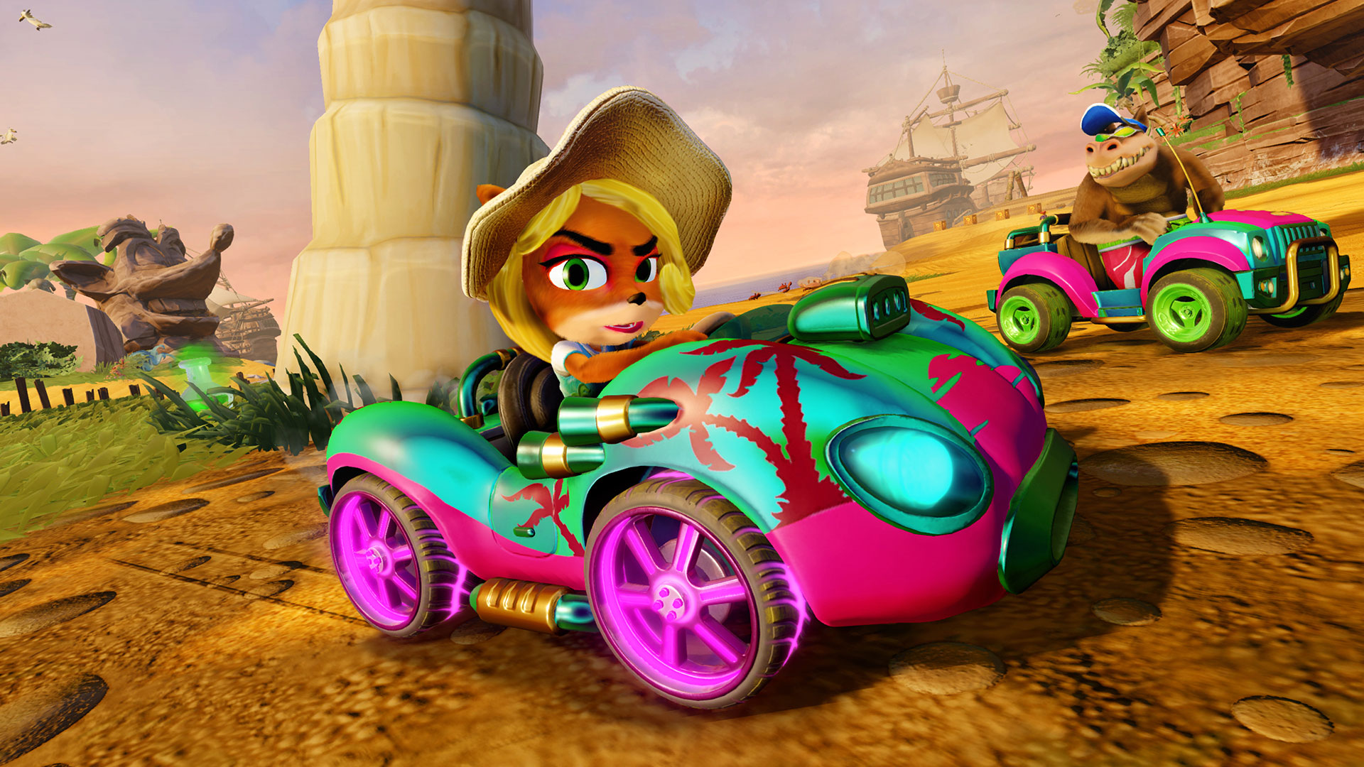 Goggles Girl Wallpaper Crash Team Racing Nitro Fueled Details Character Types