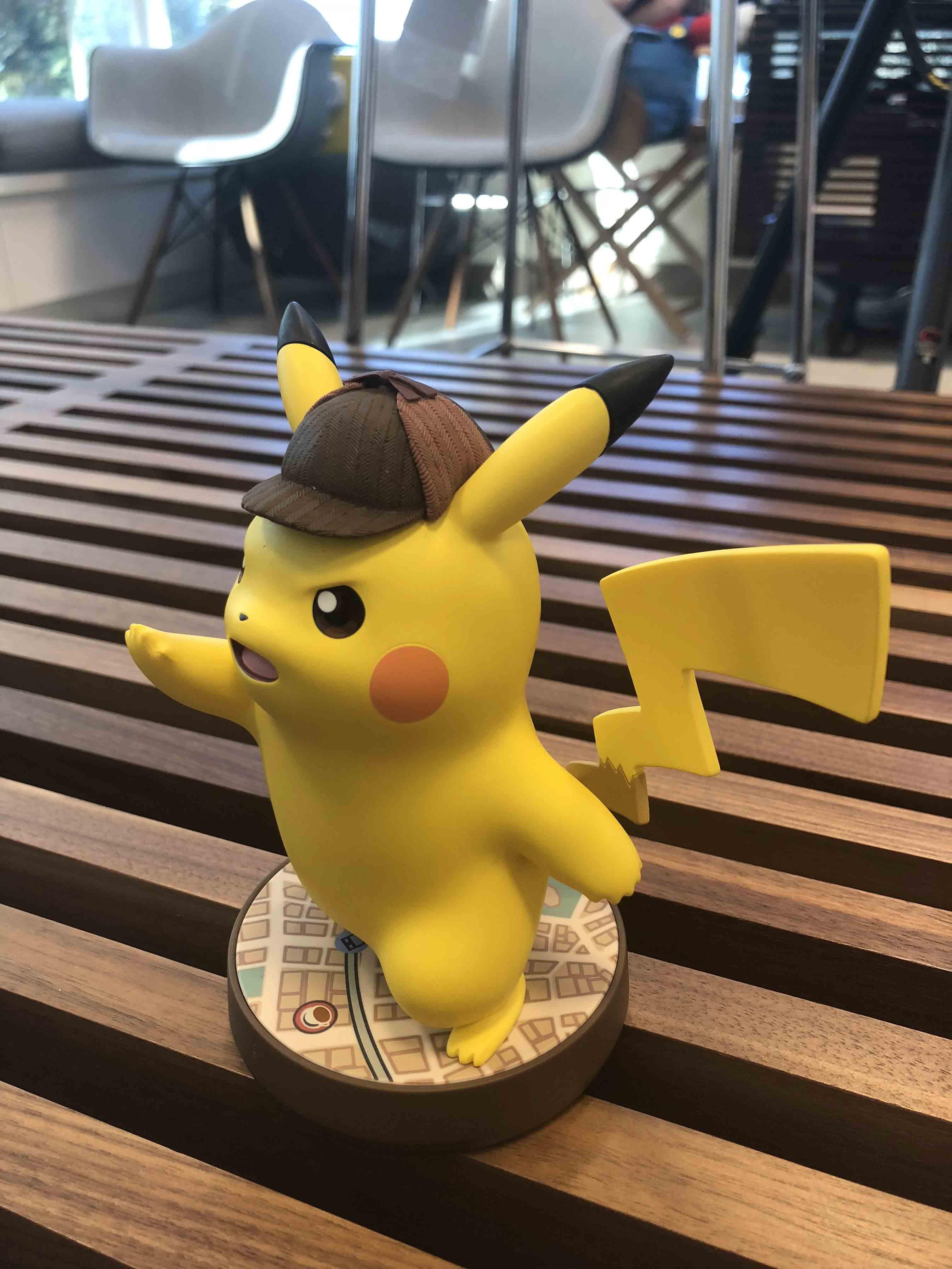 New Photos Of The Detective Pikachu Amiibo Nintendo Everything