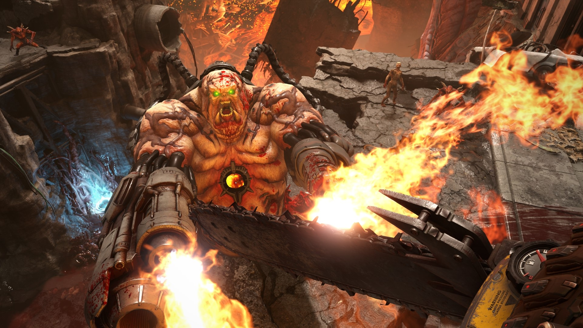 Doom Eternal Fact Sheet Screenshots And Art Nintendo