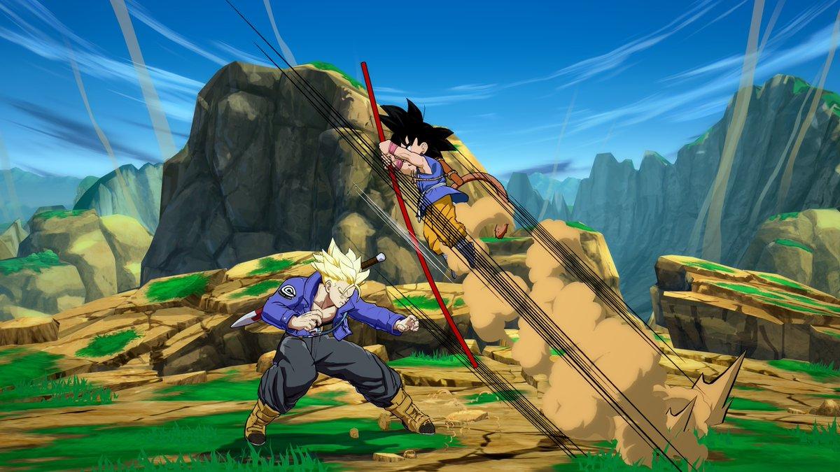 Dragon Ball FighterZ Kid Goku GT Screenshots Nintendo Everything