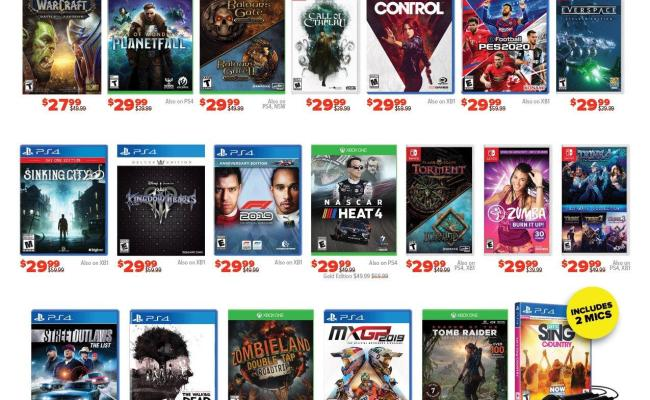 Gamestop S Black Friday 2019 Deals Nintendo Everything