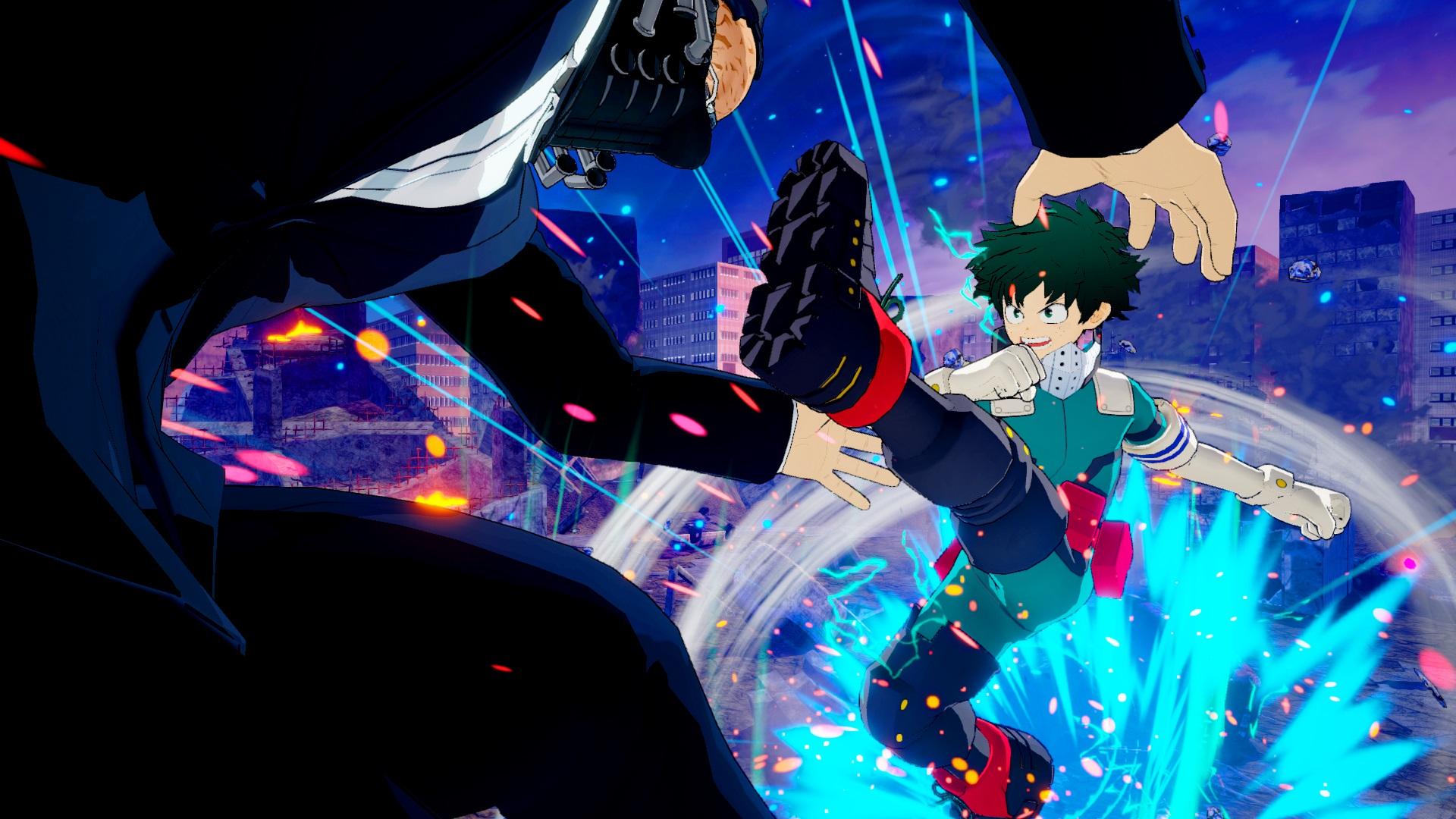 My Hero Ones Justice Screenshots Show Izuku Midoriya