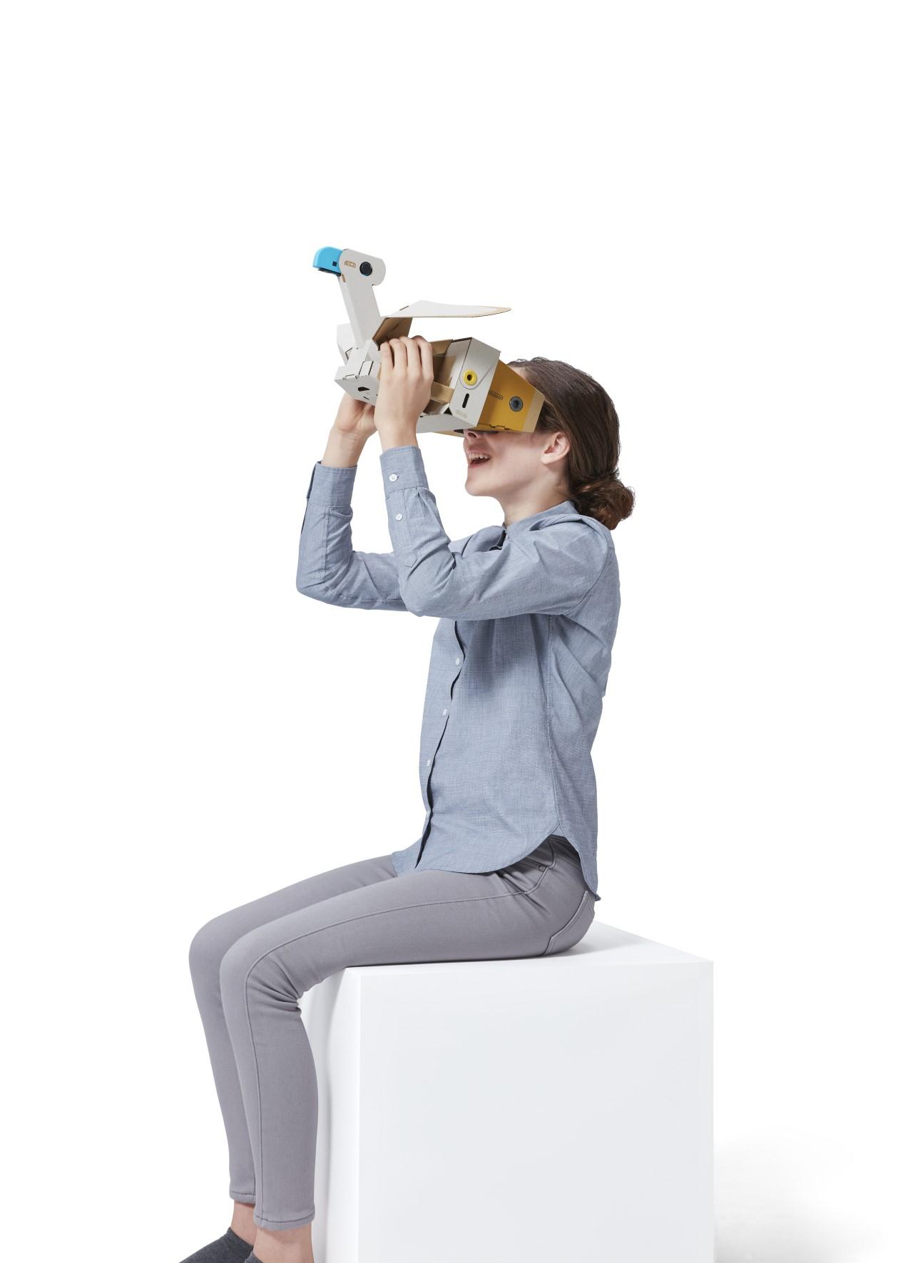 Photos Of The Nintendo Labo VR Kit Nintendo Everything