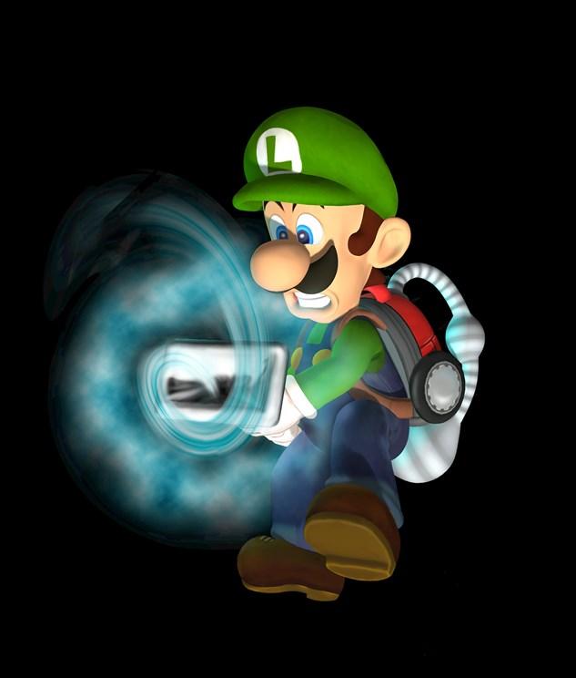 Luigi's Mansion 3DS screenshots. art - Nintendo Everything