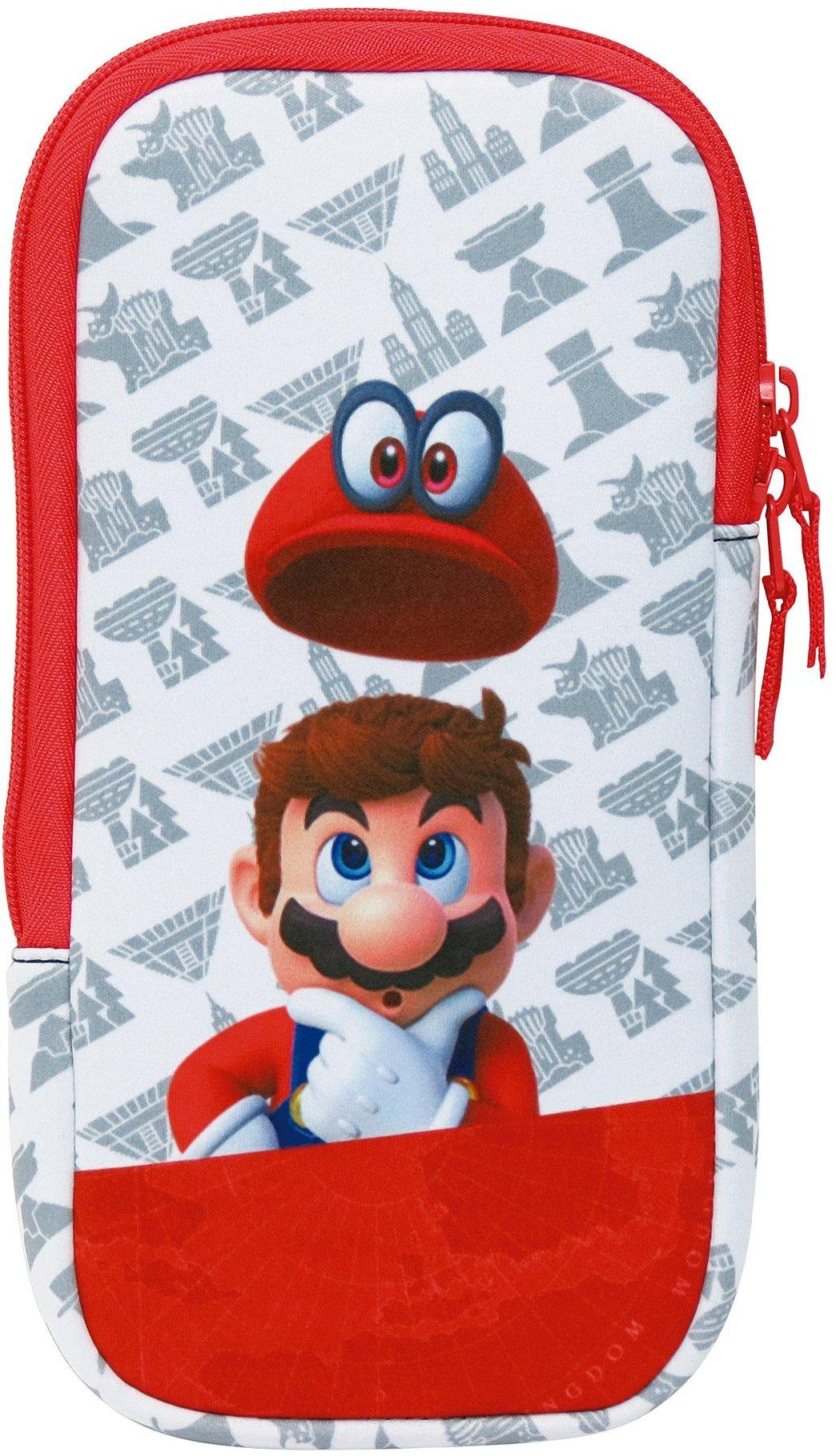 HORI Preparing A Super Mario Odyssey Accessory Set For Switch Nintendo Everything