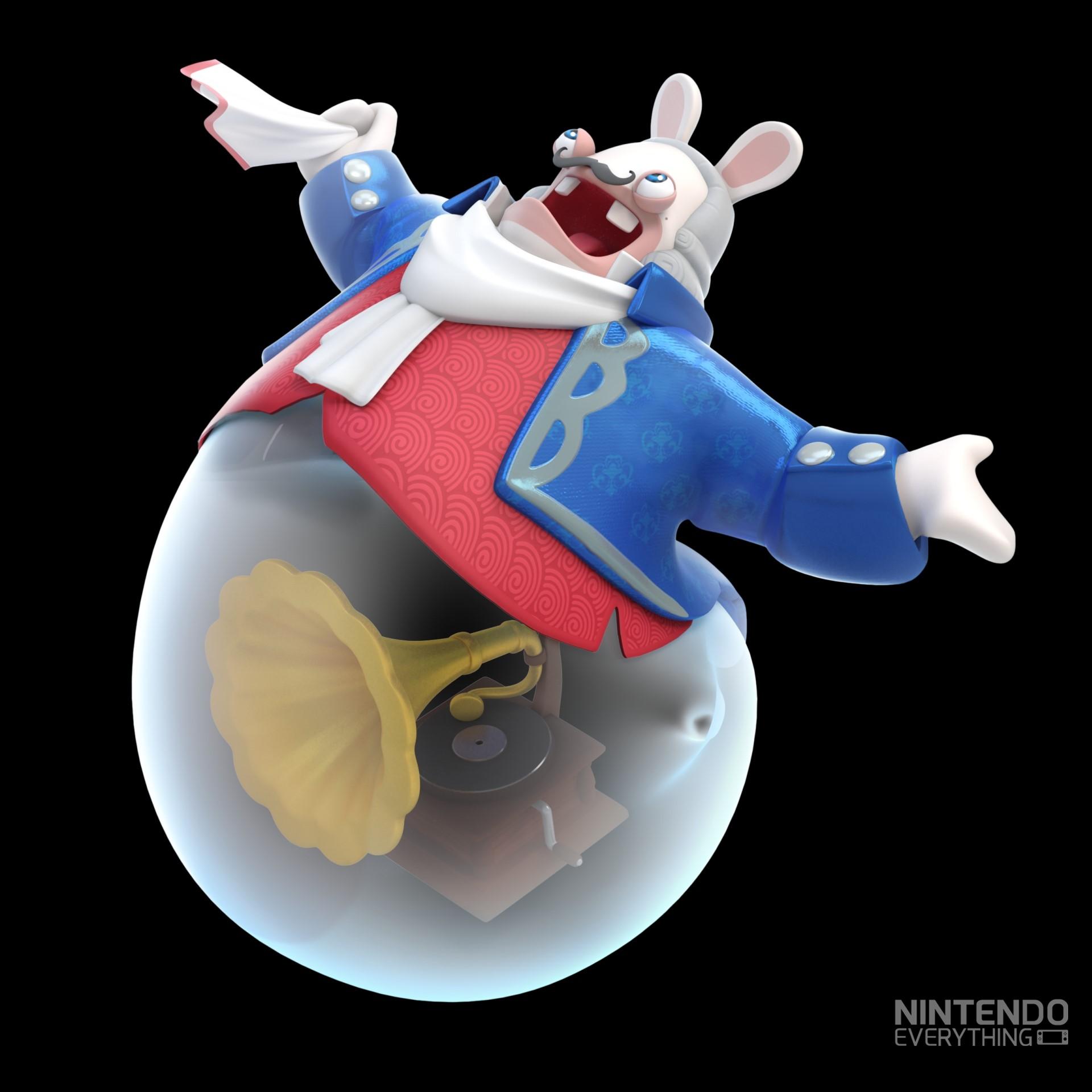 New Mario Rabbids Kingdom Battle Character Art Nintendo Everything
