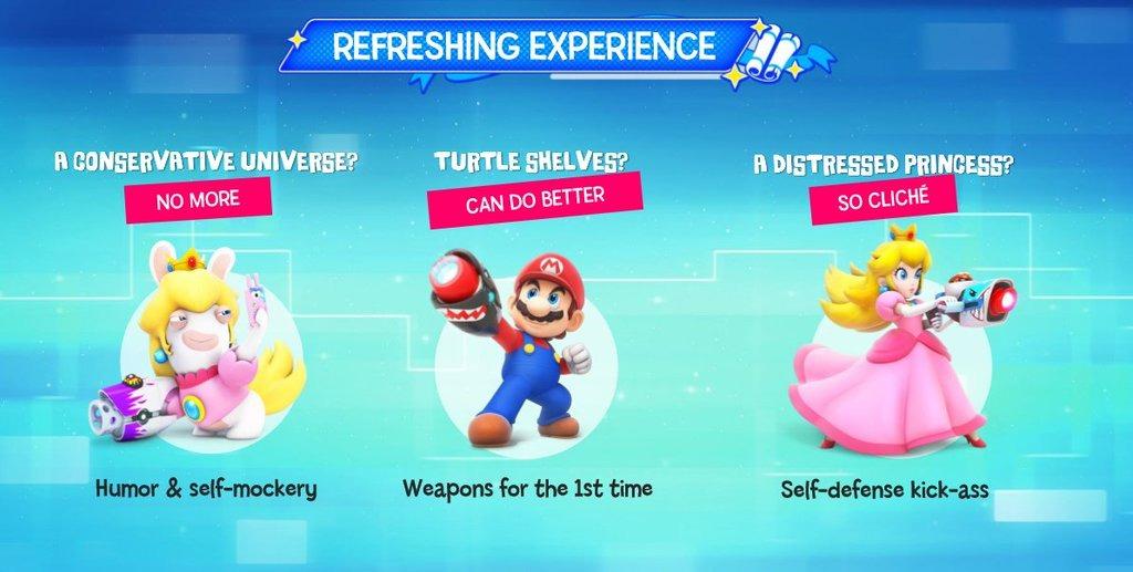 Armas especiais Leaked de Mario+Rabbids Kingdom Battle