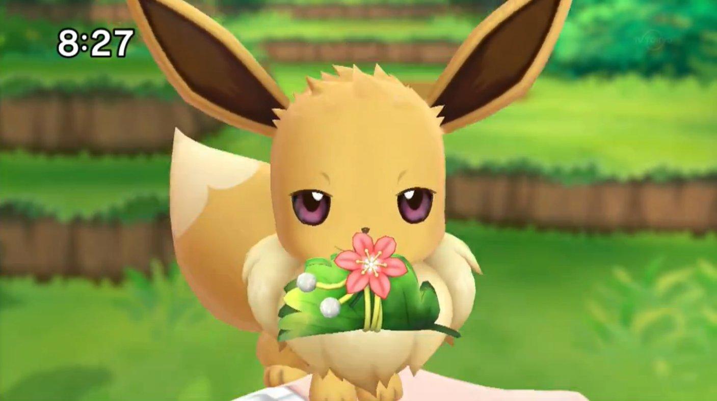 Cute Espeon Wallpaper Pokemon Let S Go Pikachu Eevee Introduces Splash Surf
