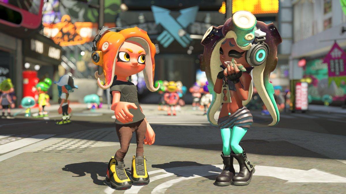 Splatoon 2 Pearl Amp Marina Amiibo Special Gear Revealed Nintendo Everything