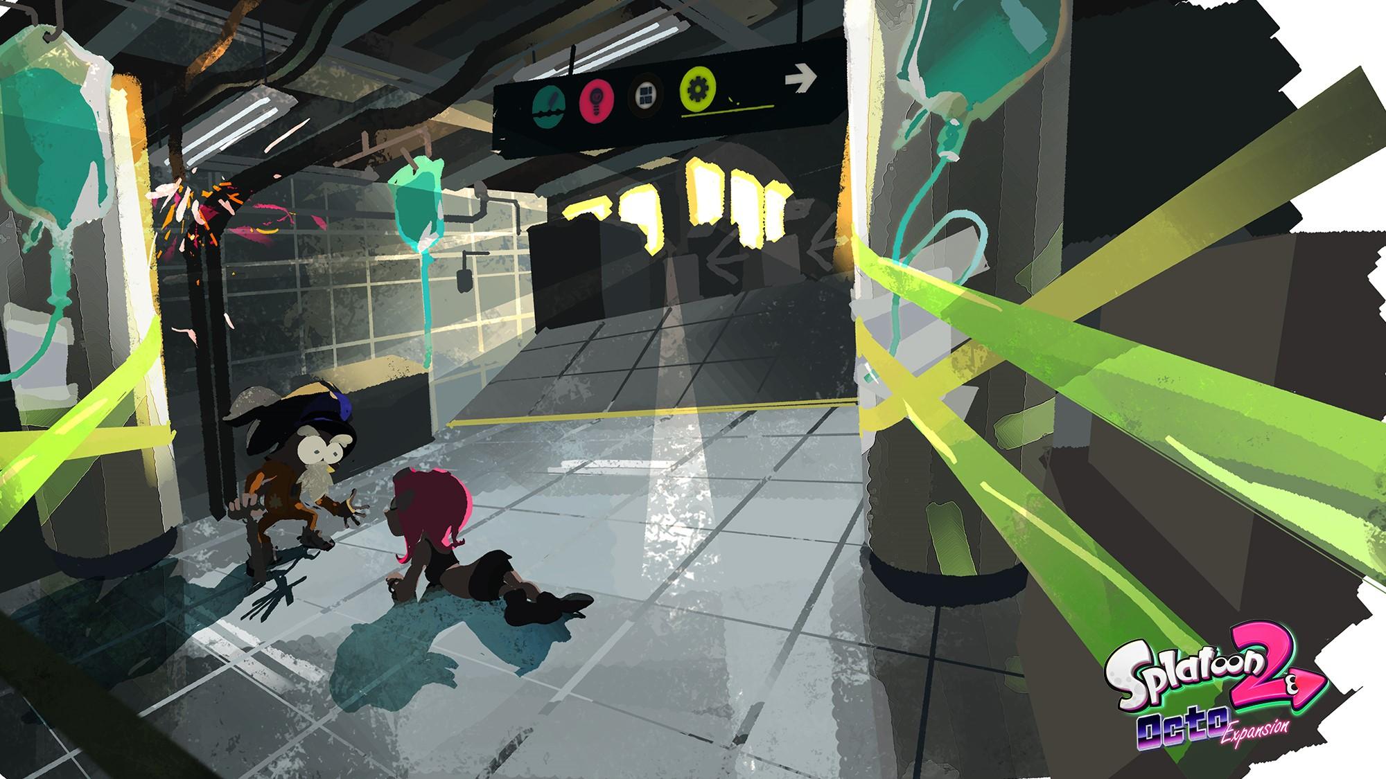Splatoon 2 Octo Expansion Details And Images Some Zelda