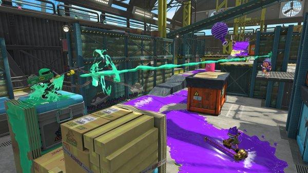 Splatoon 2 adds Walleye Warehouse map tomorrow Nintendo