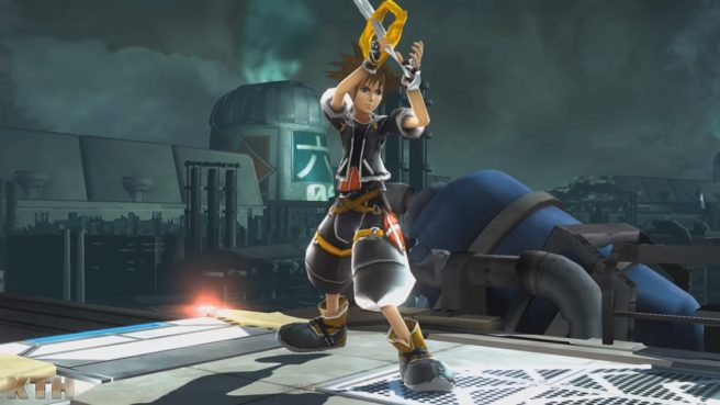 Modders Add Kingdom Hearts Sora To Smash Bros Wii U With