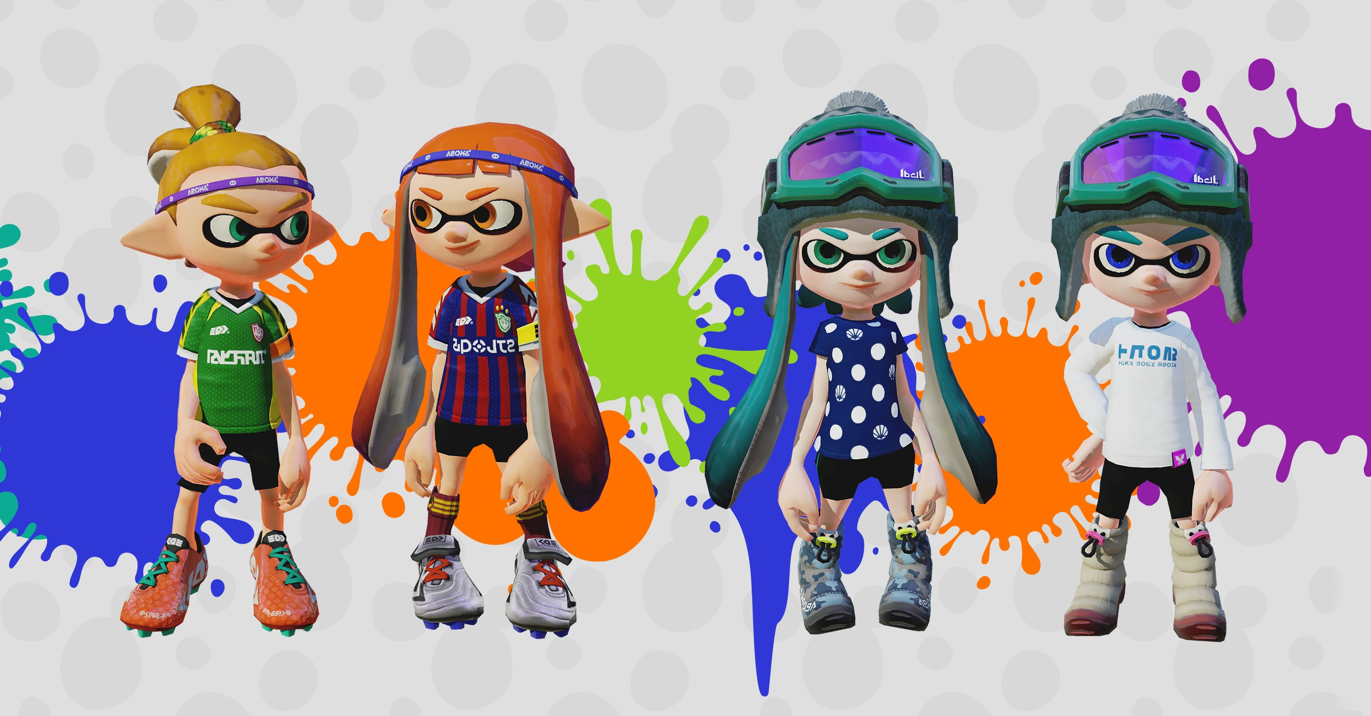 Splatoon New Gear And Stages Screenshots Nintendo Everything