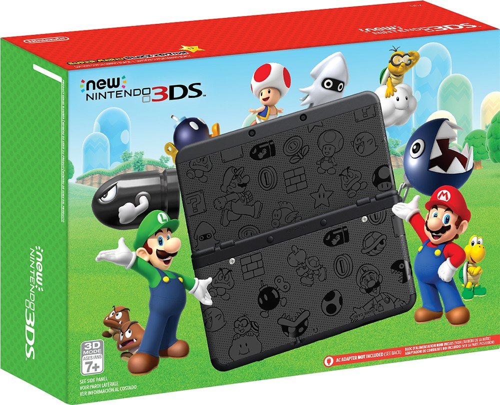 Photos Of The Super Mario Black White Edition New 3ds