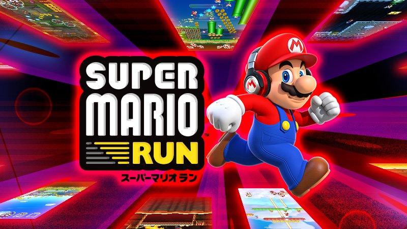 super mario run was