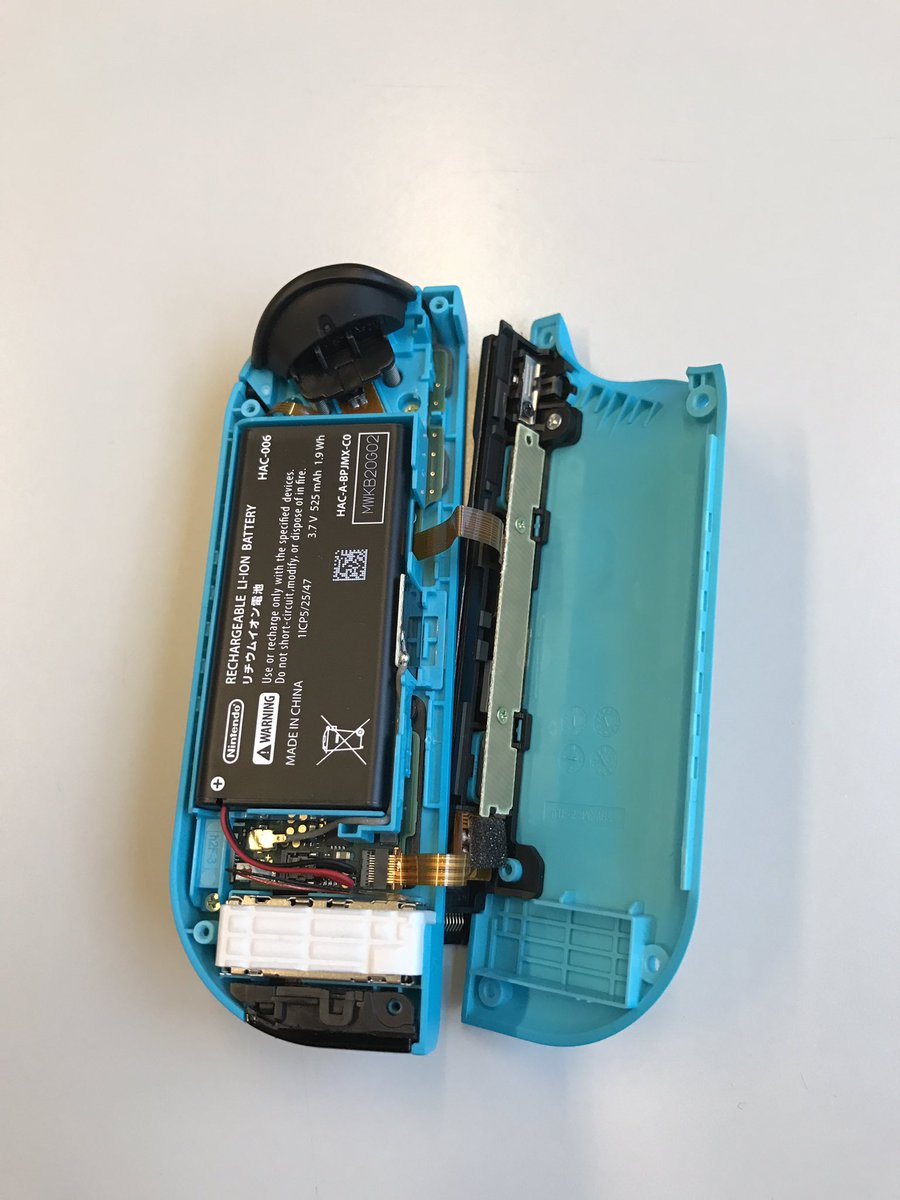 A Look Inside Of The Switch Joy Con Nintendo Everything