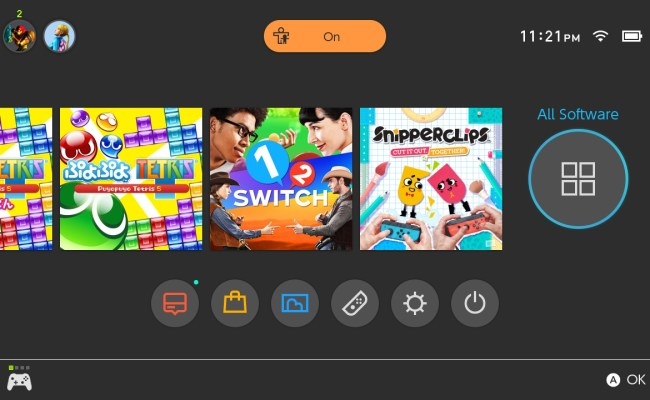 Switch Ui Gets All Software Button When You Have More