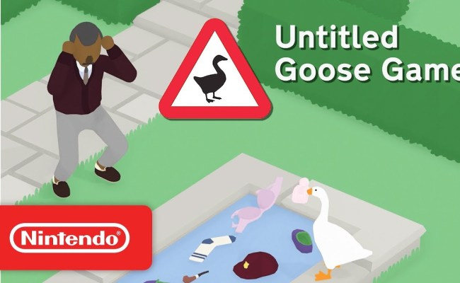 Untitled Goose Game 23 Minutes Of Gameplay From Gdc 2019