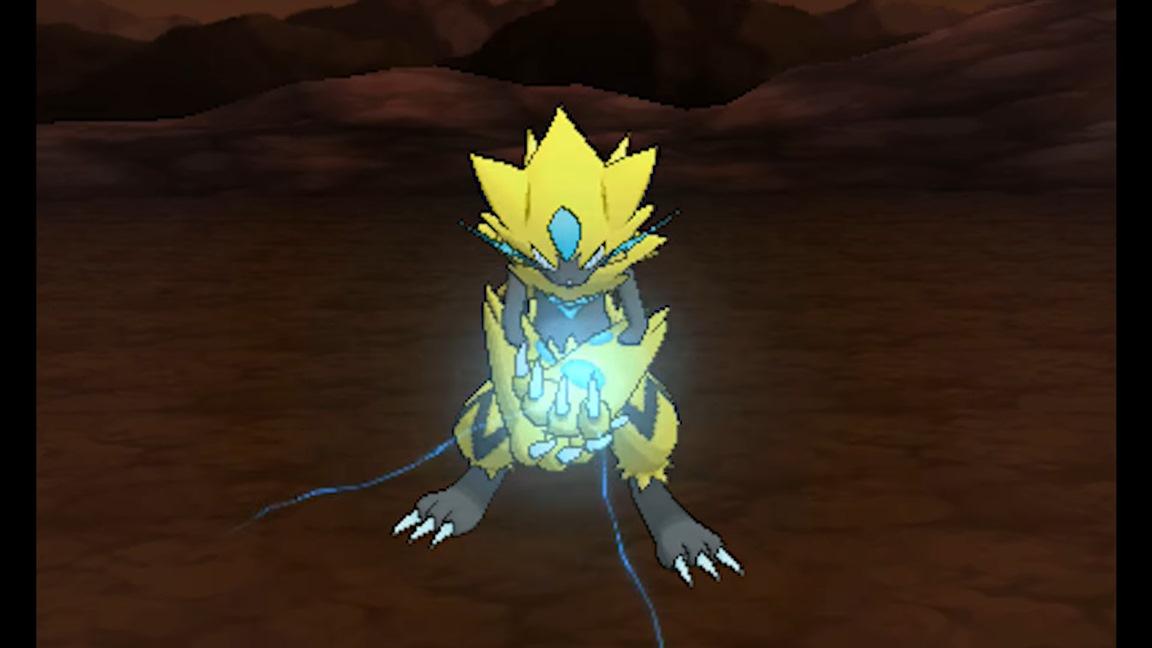 Pokemon Ultra SunUltra Moon Video Shows Zeraoras