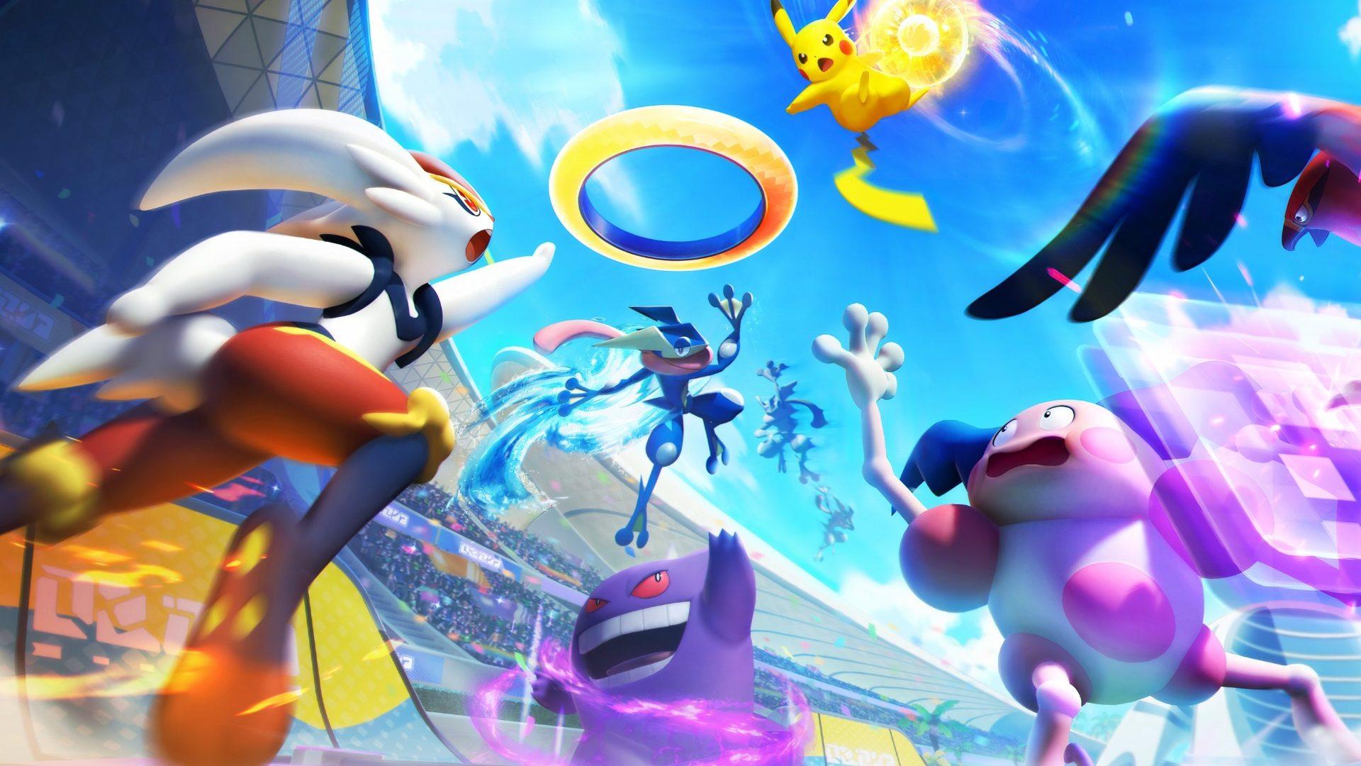 Pokémon UNITE Arrives in July on Switch