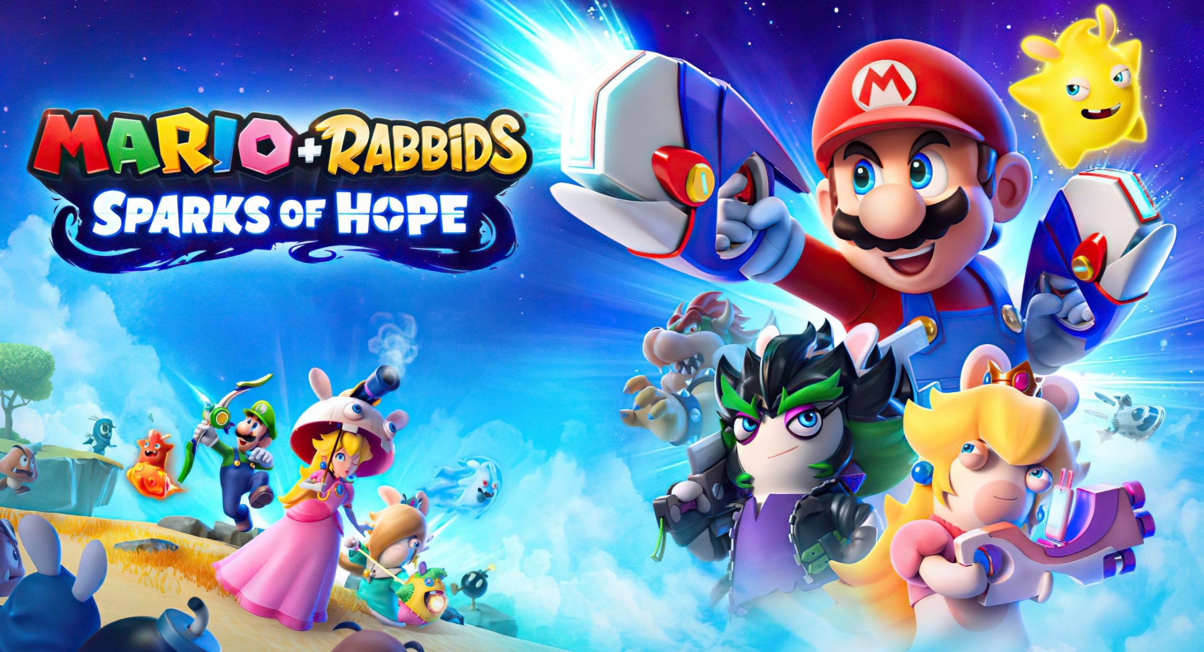 Mario + Rabbids: Sparks of Hope & Just Dance 2022 Announced at Ubisoft Forward