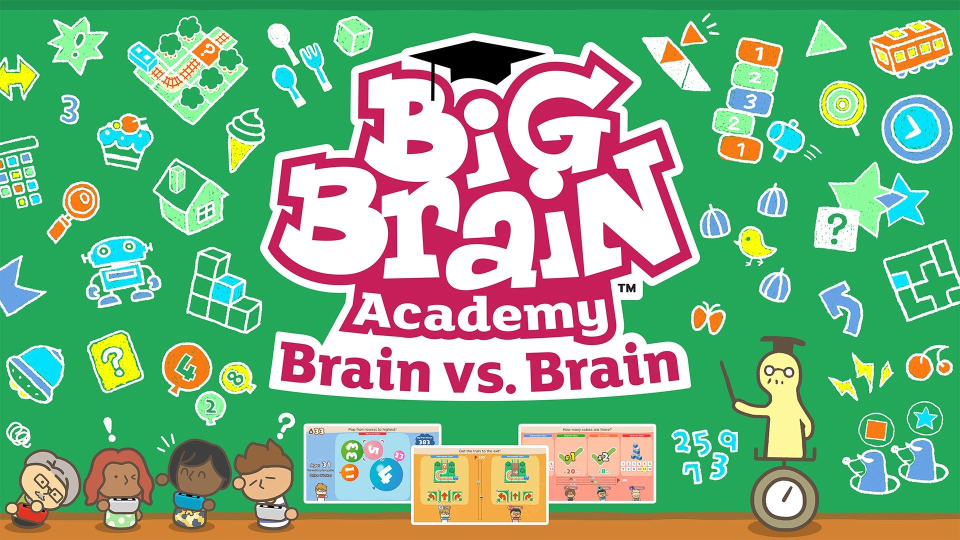 Big Brain Academy: Brain vs. Brain Announced for Switch