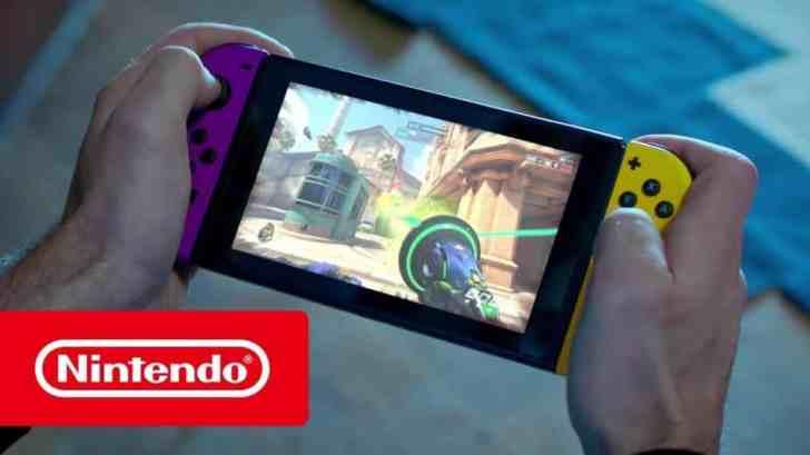 Nintendo Switch Overwatch