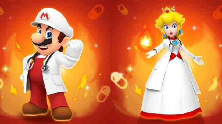 Dr. Mario World Getting New Stages, Dr. Fire Mario, Dr. Fire Peach, And More On January 9 1
