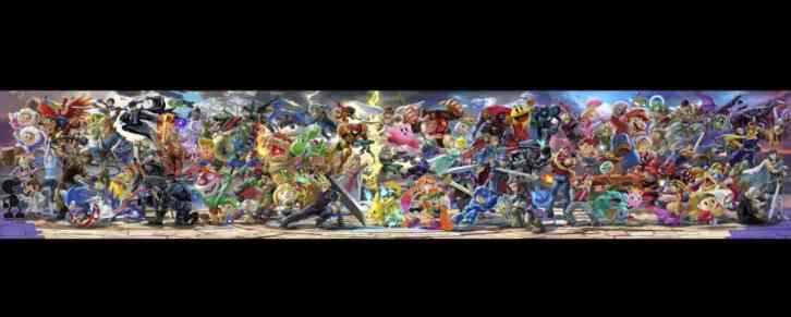 The Super Smash Bros. Ultimate Roster Artwork Now Has 80 Fighters 2