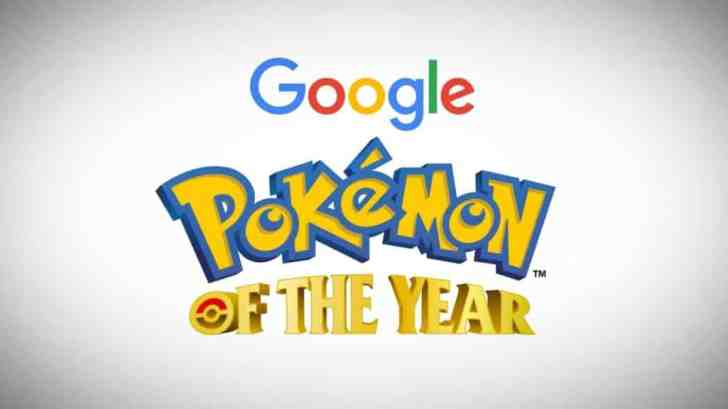 Google's Pokemon Of The Year Winner To Be Revealed Tomorrow 2