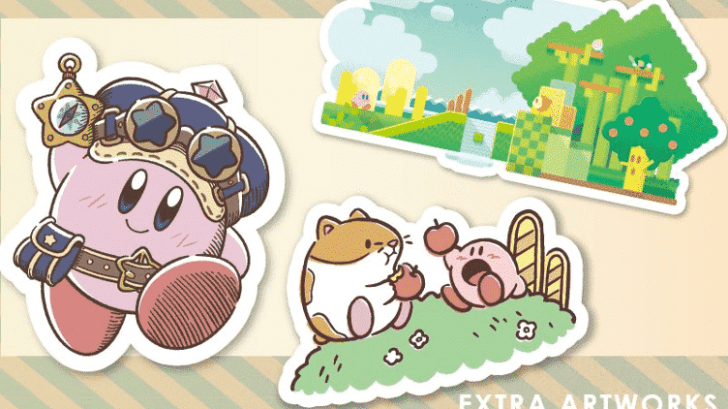 Official Kirby Website Now Sharing Special Illustrations Used In Merchandise 1
