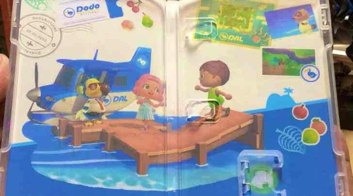 Animal Crossing: New Horizons Street Date Broken, First Look At Inner Cover And Game Card 2